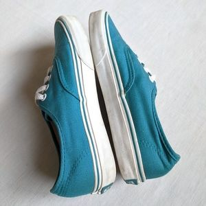 Vans Shoes - Vans W7 teal shoes